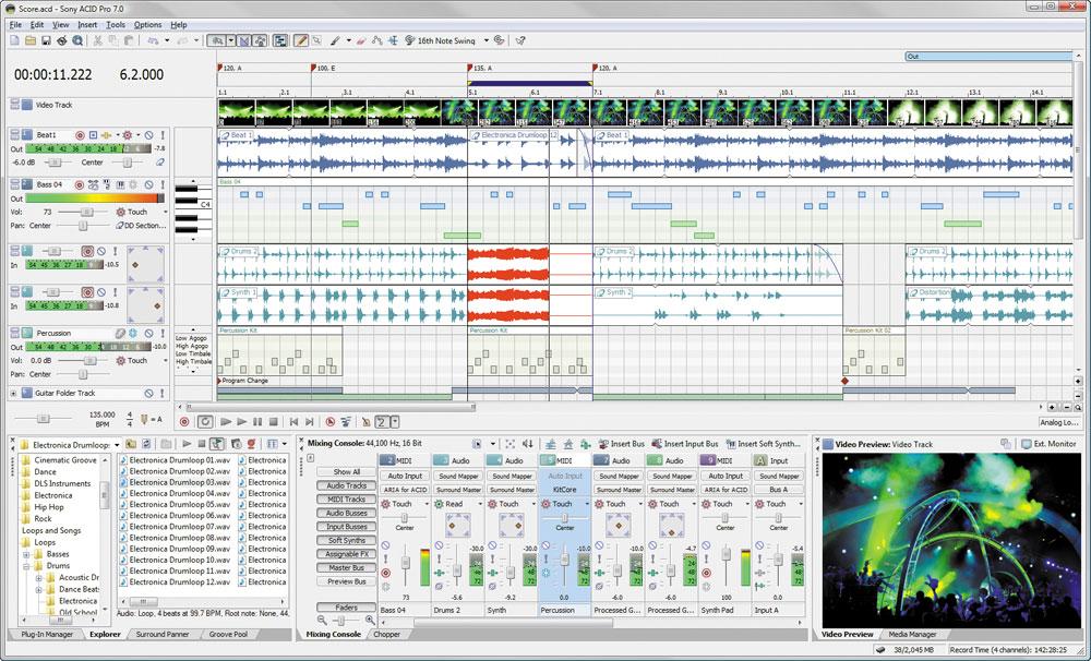 Acid Pro Screenshot