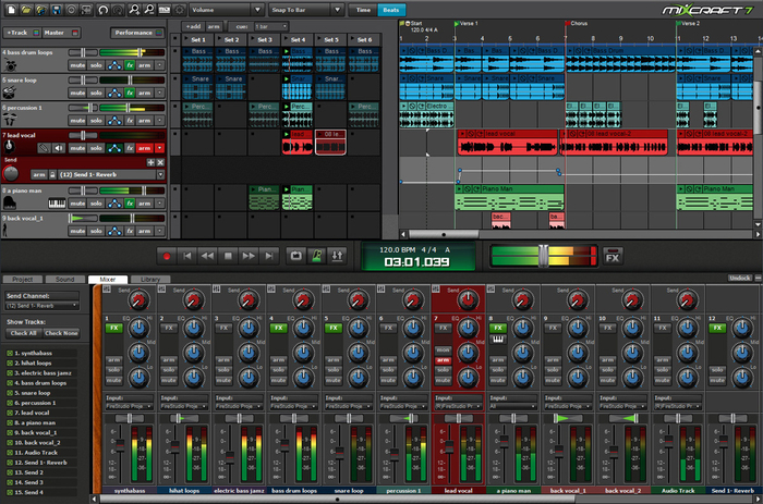 Mixcraft-Screenshot
