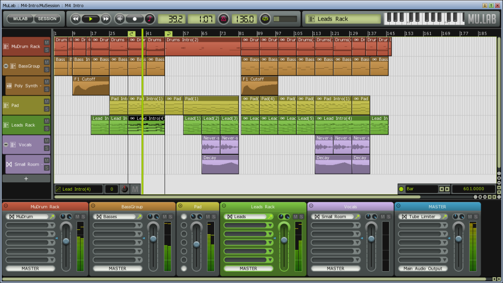 MuLab-Screenshot