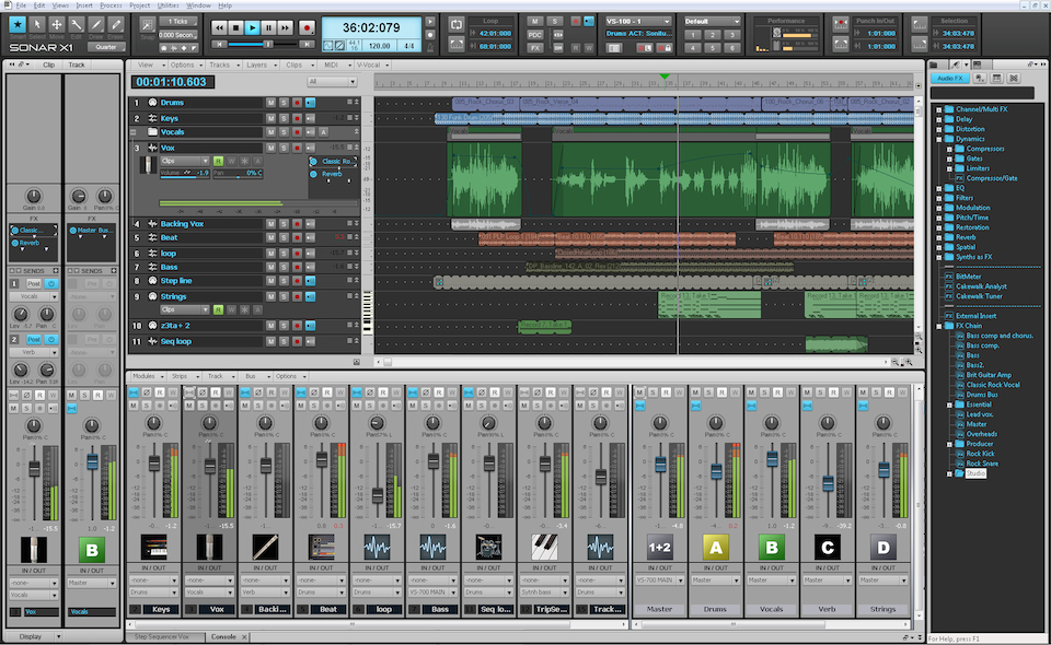 Sonar-Screenshot
