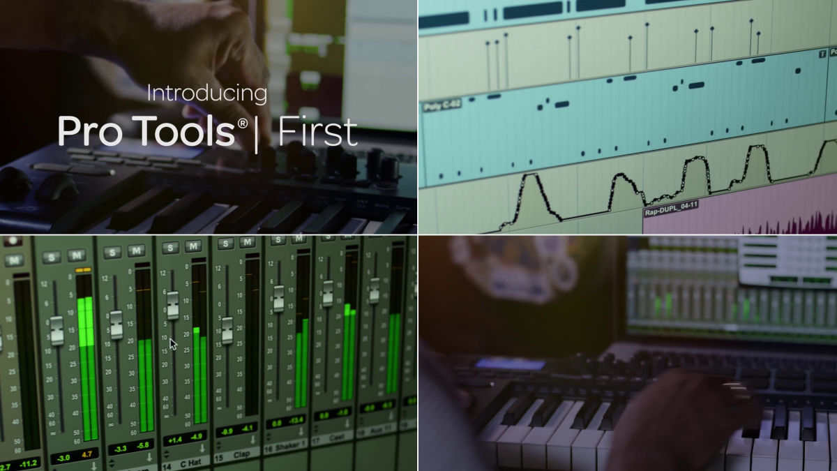 Pro Tools First | theDAWstudio com