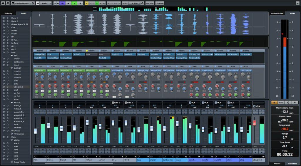 Cubase-Screenshot